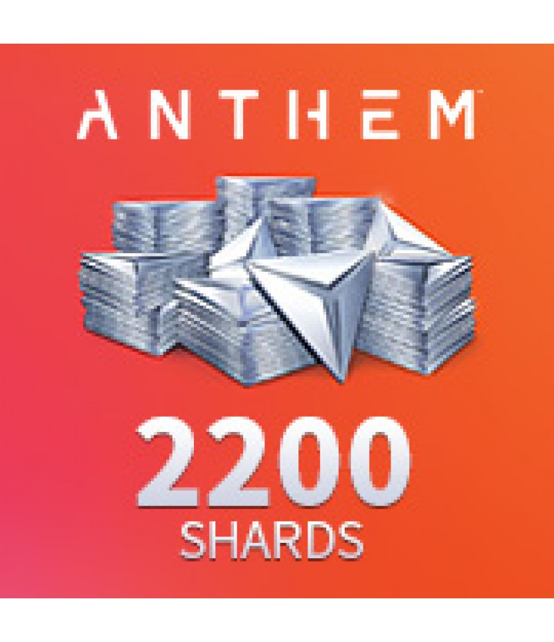 Anthem  >  Pack  >  2200 Shards Pack