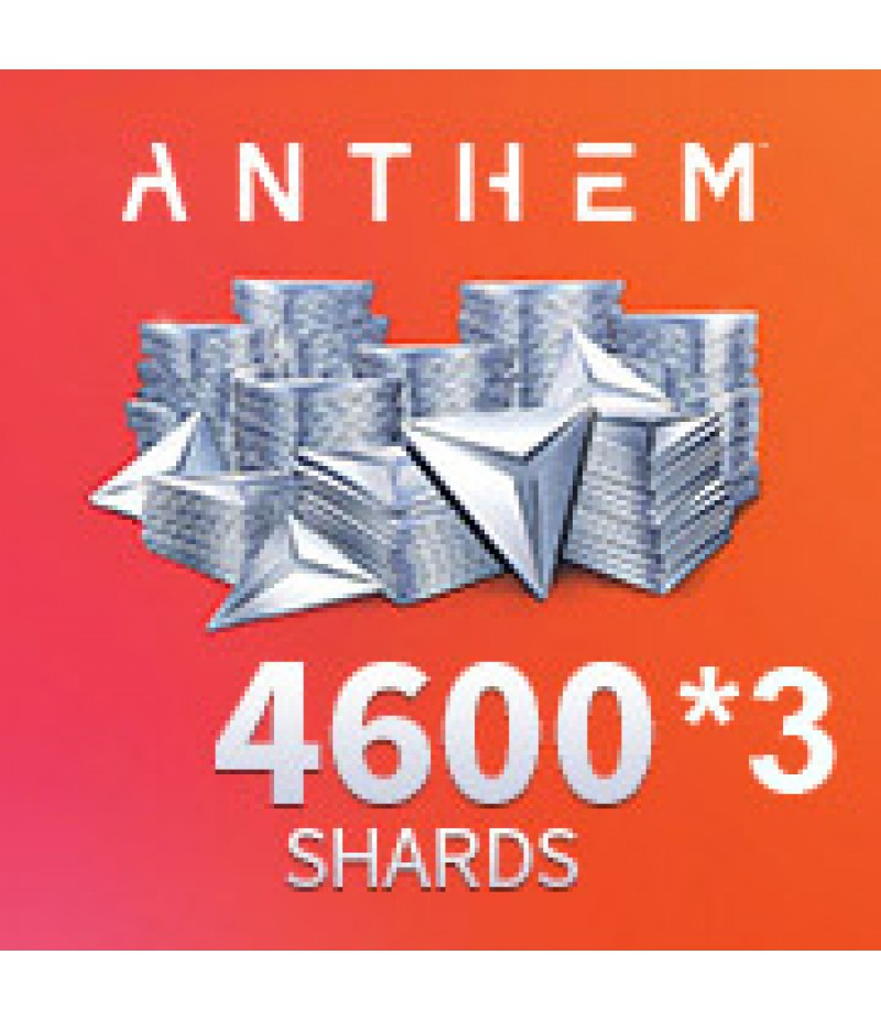 Anthem  >  Pack  >  4600 *3 Shards Pack
