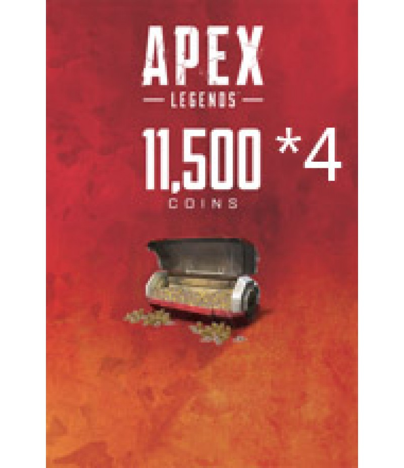 Apex Legends  >  Coins  >  Apex Legends Coins(PC Only)  >  11500*4 Coins