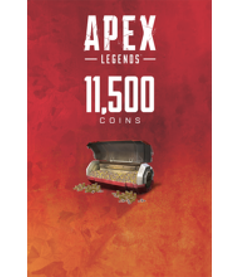 Apex Legends  >  Coins  >  Apex Legends Coins(PC Only)  >  11500 Coins