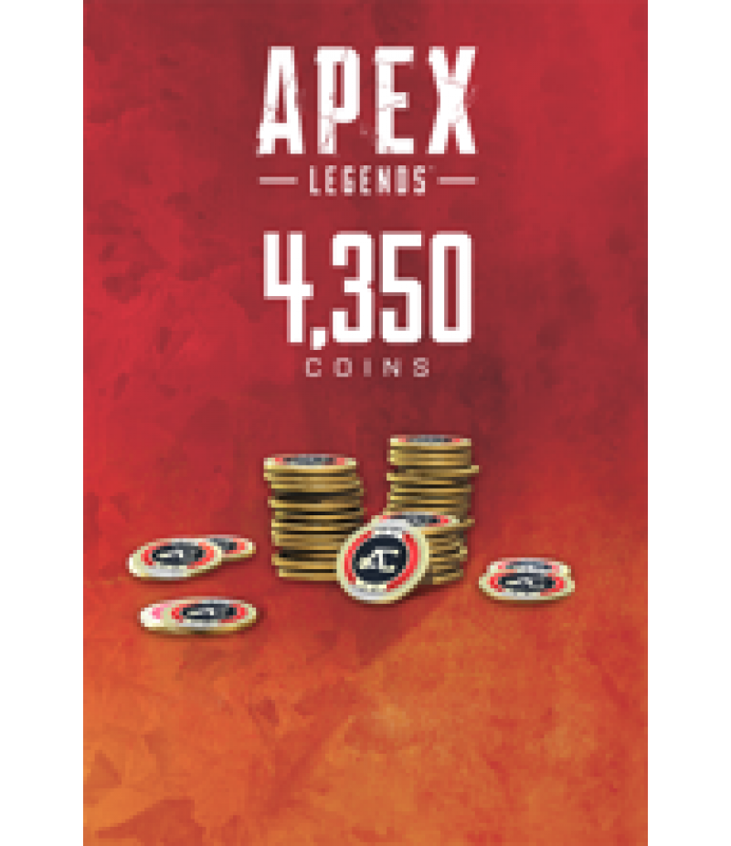 Apex Legends  >  Coins  >  Apex Legends Coins(PC Only)  >  4350 Coins