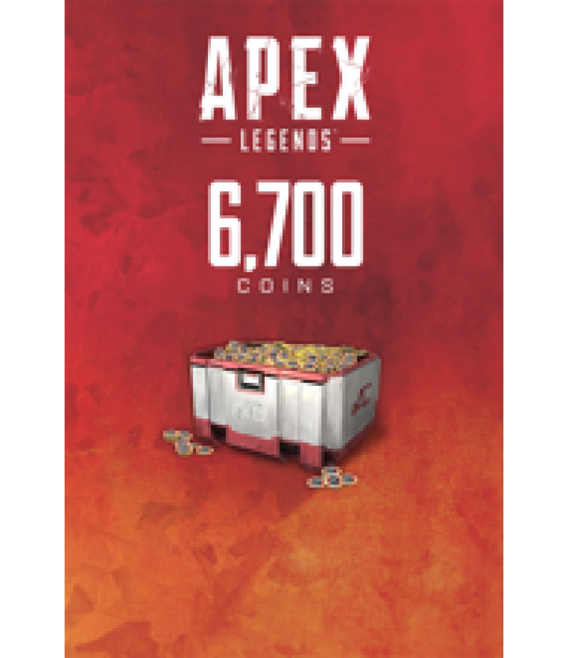 Apex Legends  >  Coins  >  Apex Legends Coins(PC Only)  >  6700 Coins