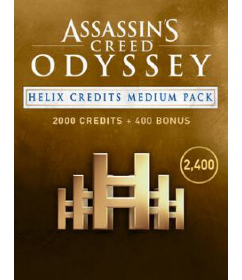 Assassin's Creed Odyssey  >  Credits  >  2400 Helix Credits