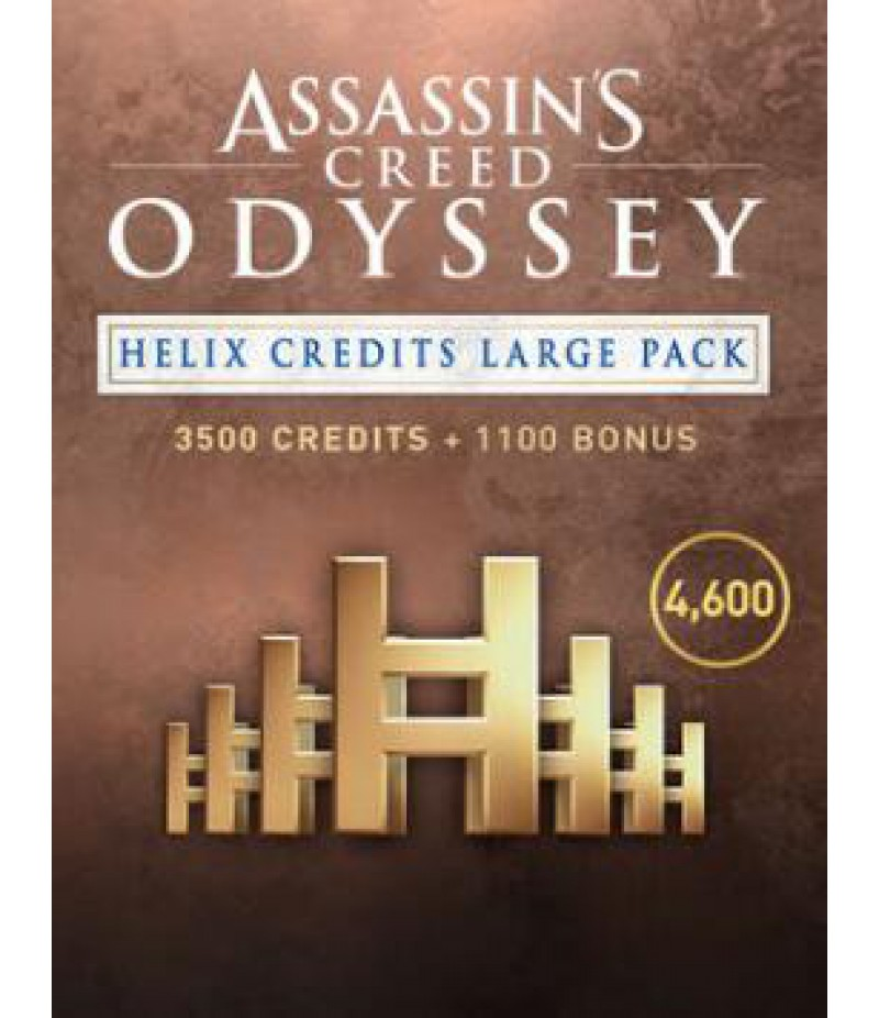 Assassin's Creed Odyssey  >  Credits  >  4600 Helix Credits