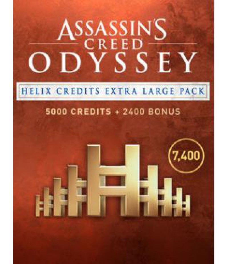 Assassin's Creed Odyssey  >  Credits  >  7400 Helix Credits