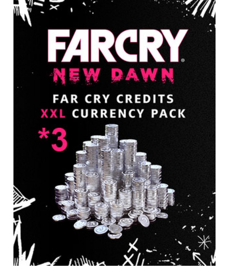 Far Cry New Dawn  >  Items  >   Credits Pack(PC Only)  >  7250 *3Credits