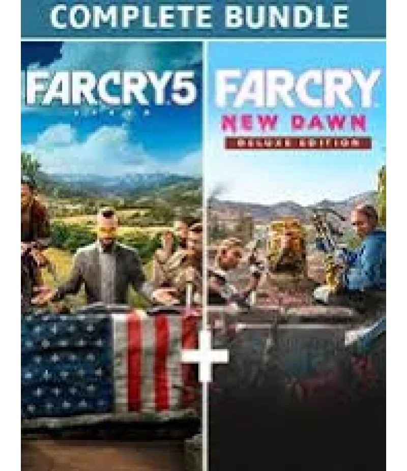 Far Cry New Dawn  >  Items  >   Credits Pack(PC Only)  >  Far Cry 5 + Far Cry New Dawn Deluxe Edition Bundle