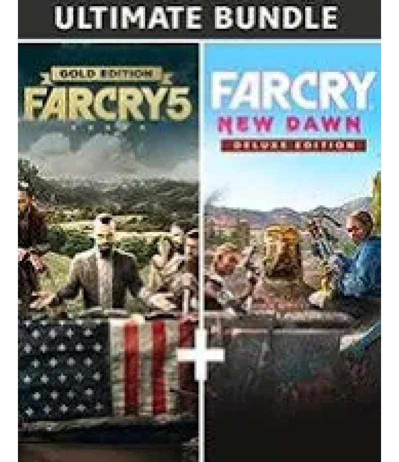 Far Cry New Dawn  >  Items  >   Credits Pack(PC Only)  >  Far Cry 5 Gold Edition + Far Cry New Dawn Deluxe Edition Bundle