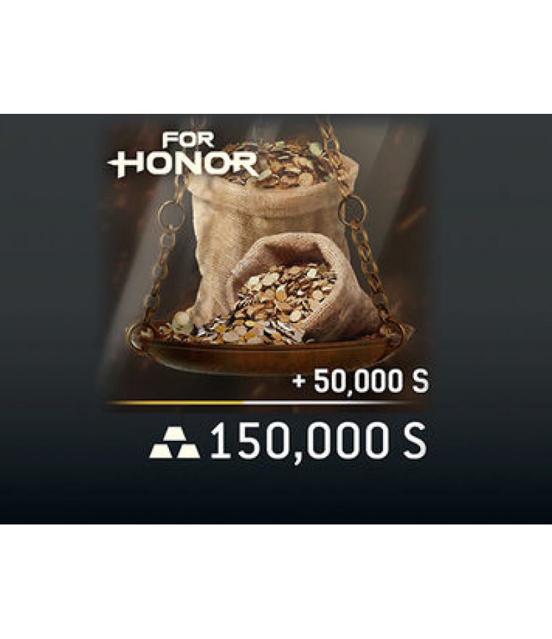 For Honor  >  Items  >  Steel Credits - PC  >  150000 Steel Credits