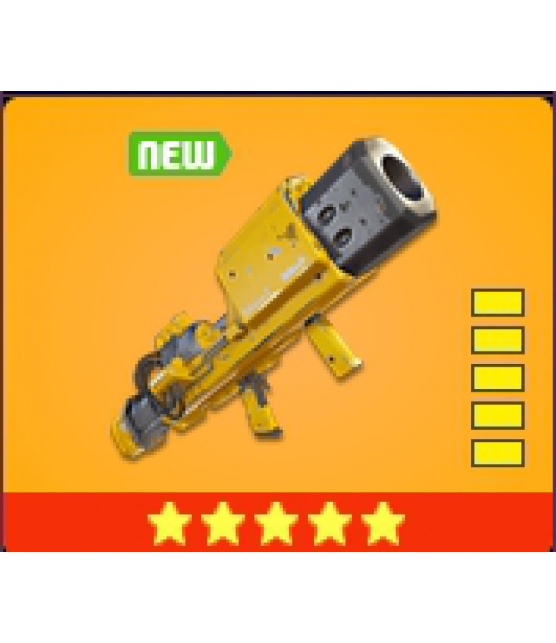 Fortnite>Items>Items - New items>Dam Buster - 5 Stars