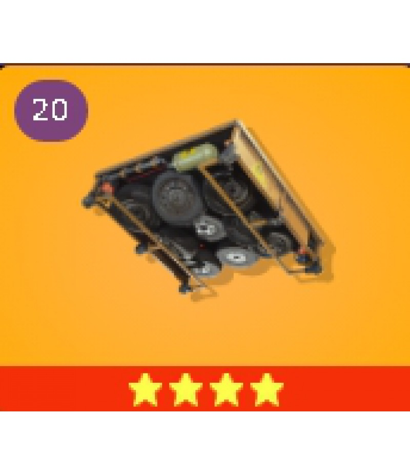 Fortnite  >  Items  >  Items - Traps  >  Ceiling Drop Trap - 4 Stars