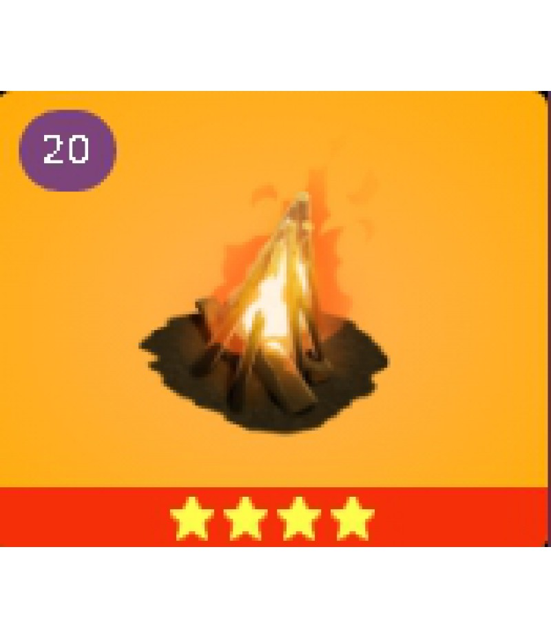 Fortnite  >  Items  >  Items - Traps  >  Cozy Campfire - 4 Stars