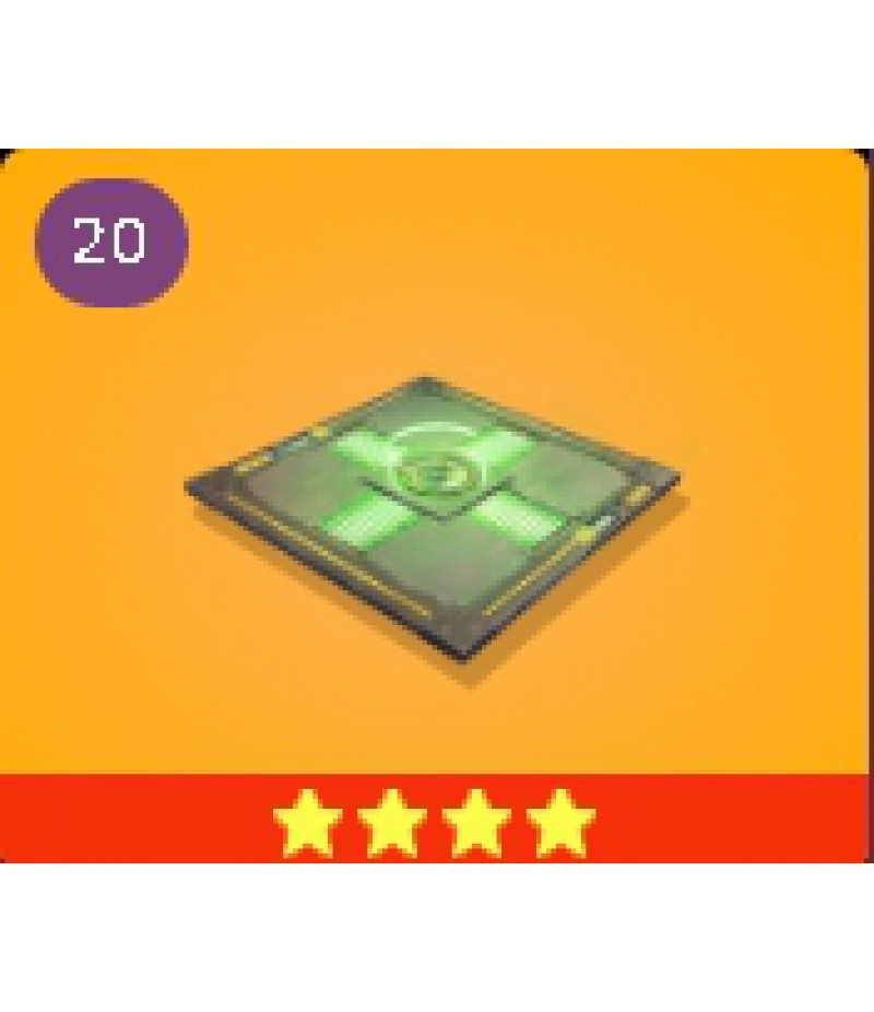 Fortnite  >  Items  >  Items - Traps  >  Healing Pad - 4 Stars