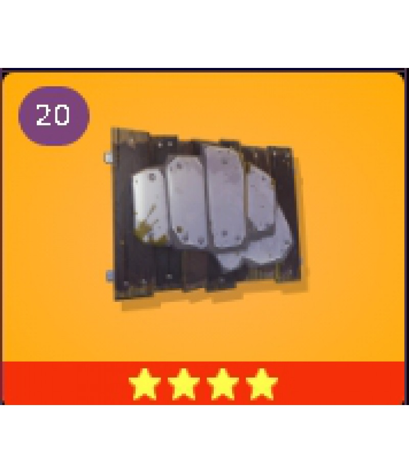 Fortnite  >  Items  >  Items - Traps  >  Wall Launcher - 4 Stars