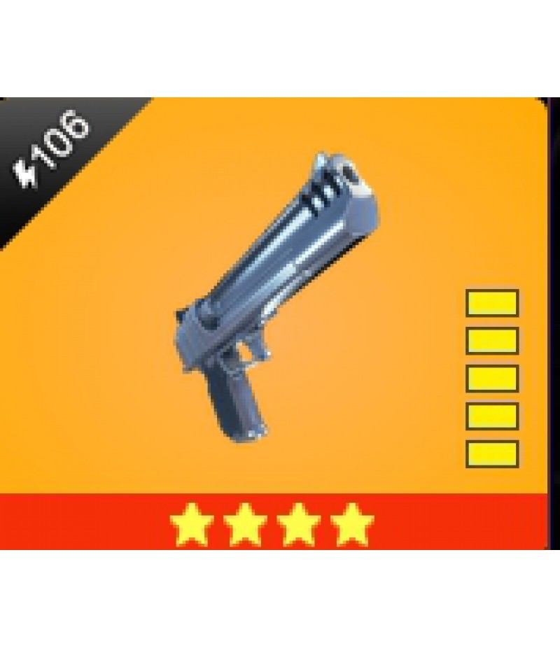 Fortnite  >  Items  >  Items - Weapone  >  Bald Eagle - 4 Stars