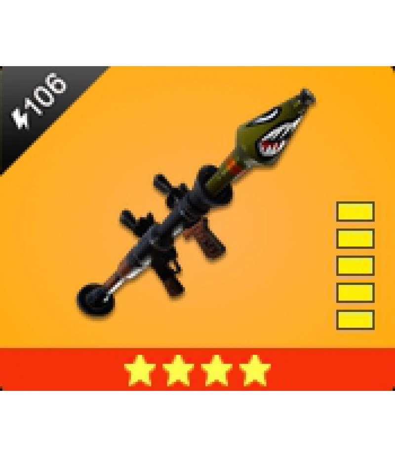 Fortnite  >  Items  >  Items - Weapone  >  Bazooka - 4 Stars