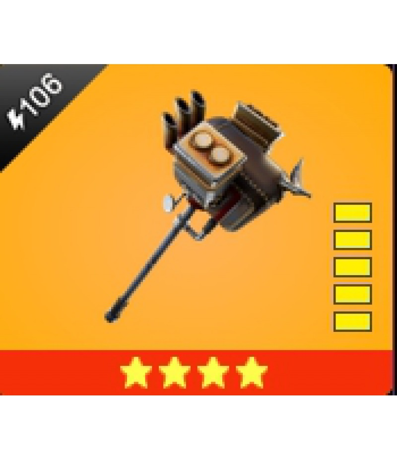 Fortnite  >  Items  >  Items - Weapone  >  Lead sled - 4 Stars