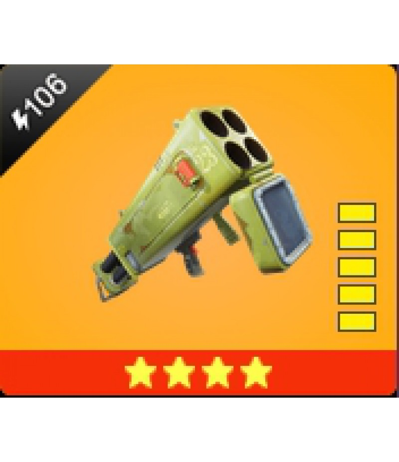 Fortnite  >  Items  >  Items - Weapone  >  Quad Launcher - 4 Stars