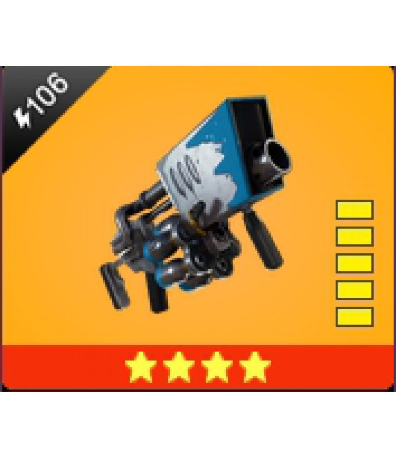 Fortnite  >  Items  >  Items - Weapone  >  Snowball Launcher - 4 Stars