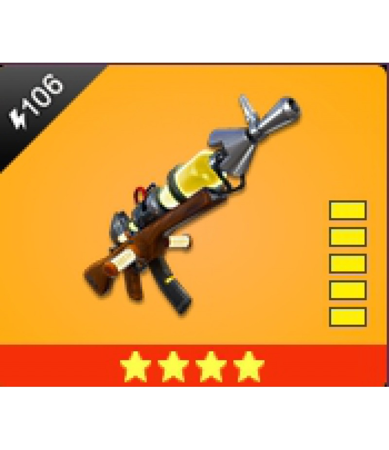 Fortnite  >  Items  >  Items - Weapone  >  Vacuum Tube Rifle - 4 Stars