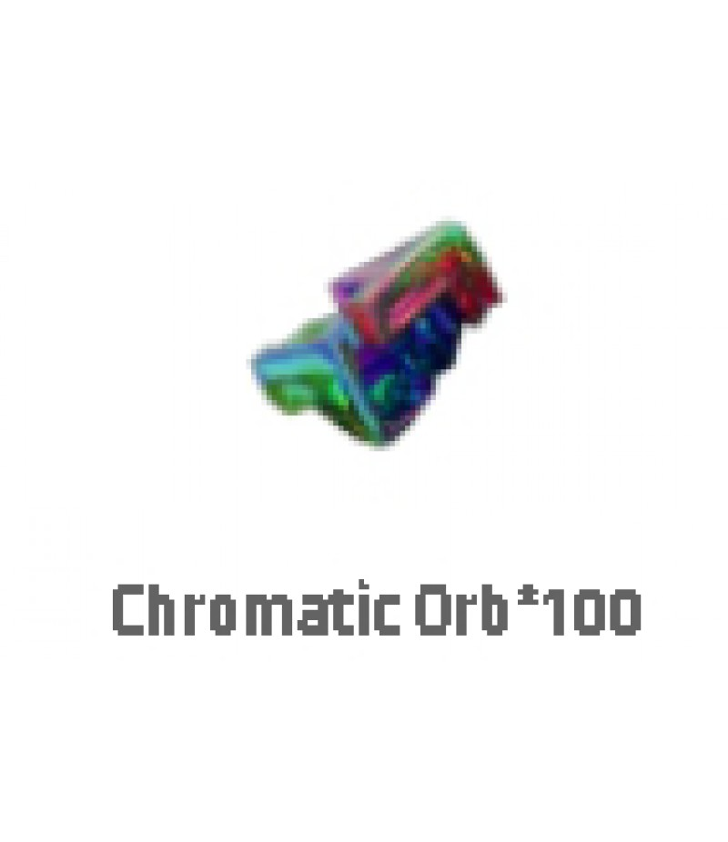 Path of Exile  >  Items  >  Standard  >  Chromatic orb*100