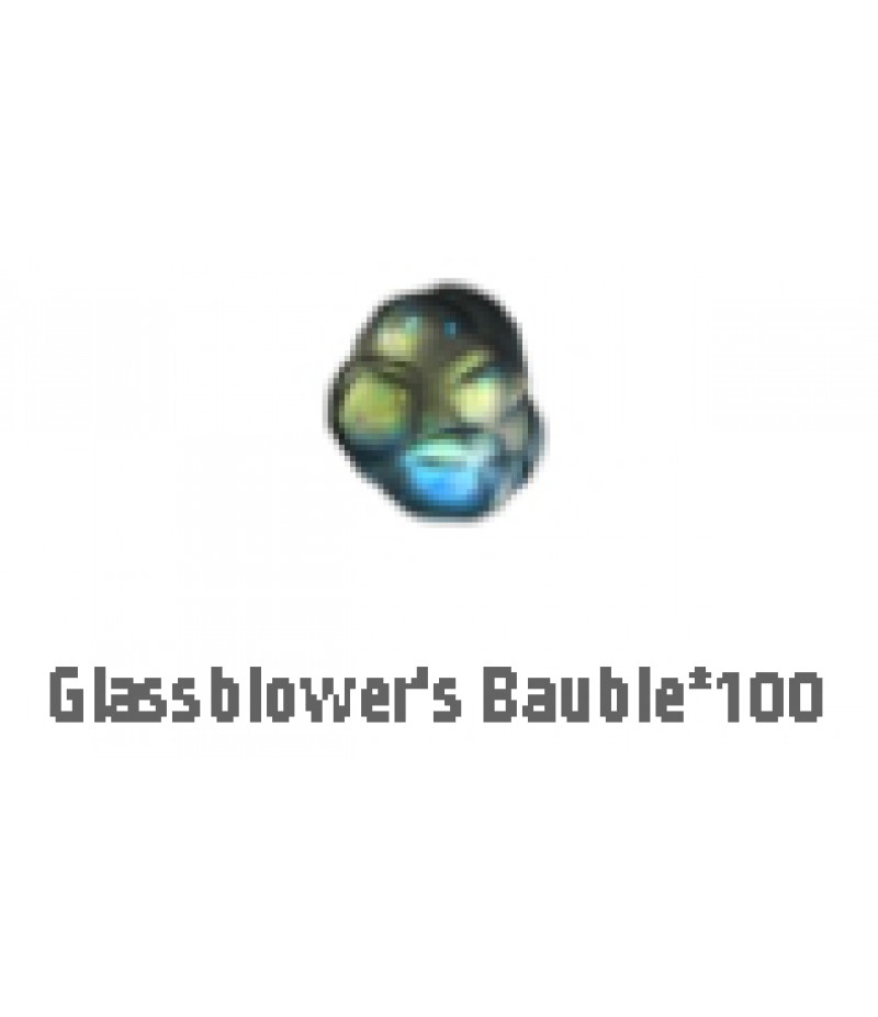 Path of Exile  >  Items  >  Standard  >  Glassblowers Bauble*100