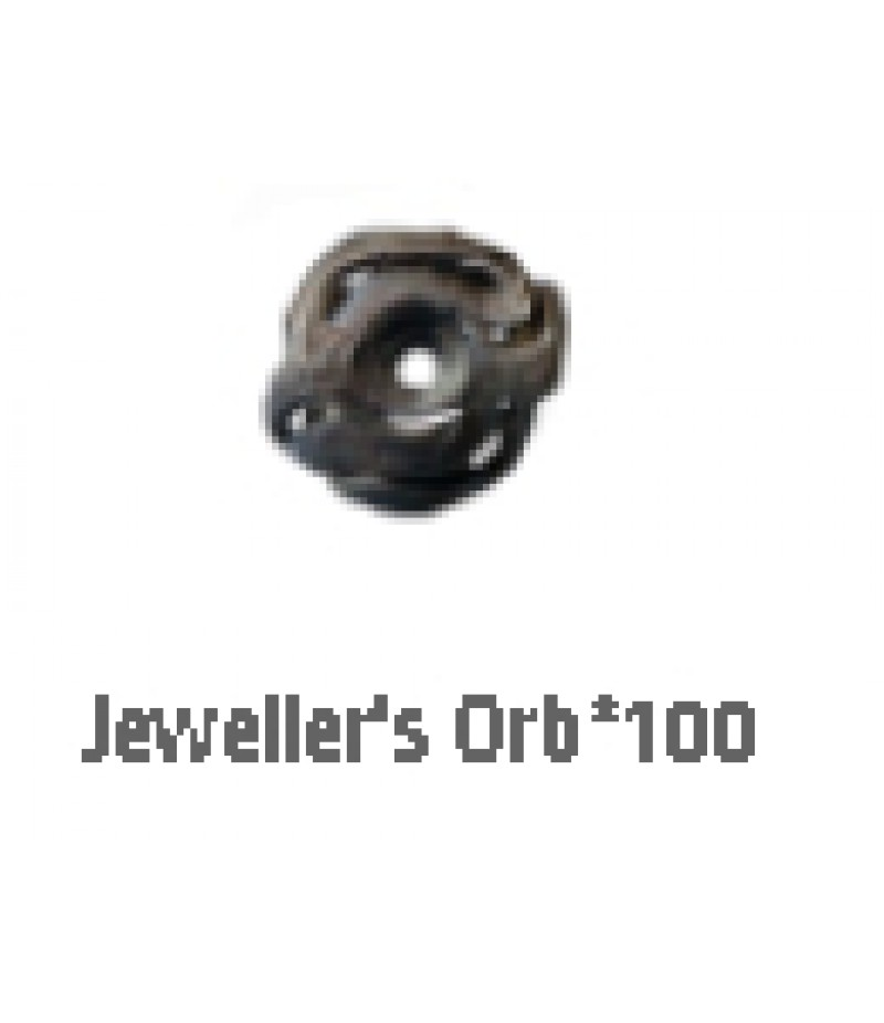 Path of Exile  >  Items  >  Standard  >  Jewellers Orb*100