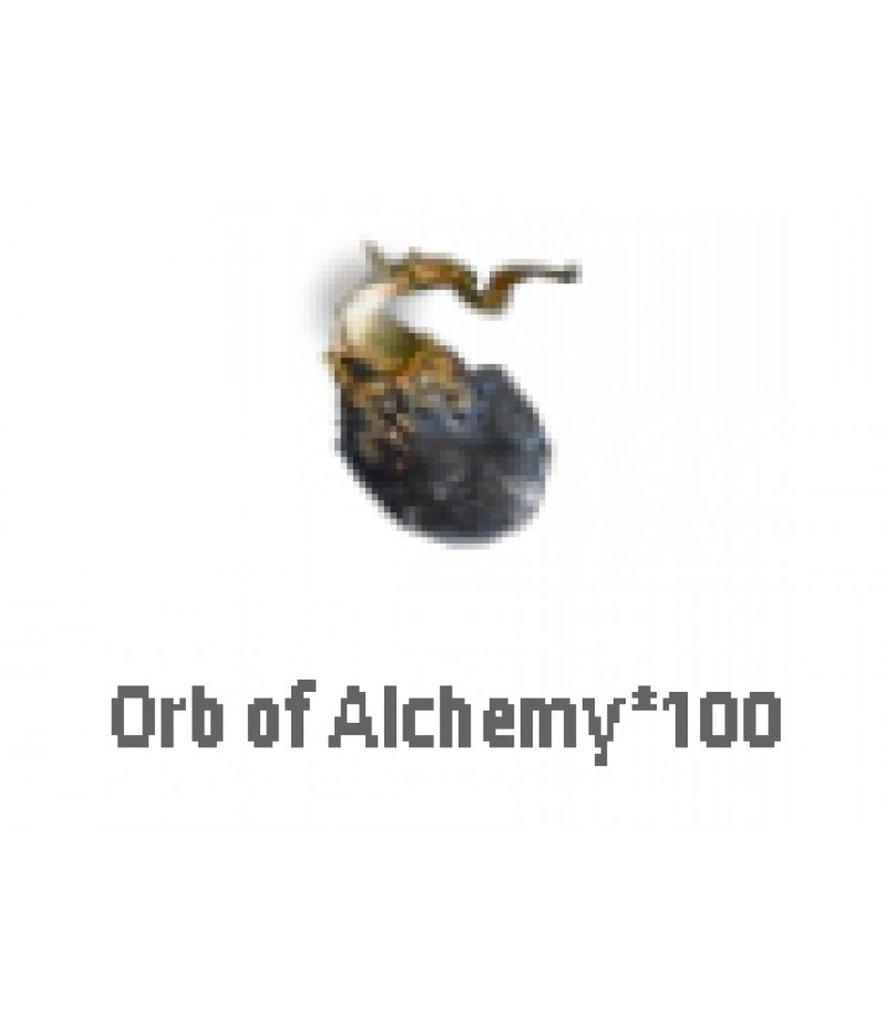 Path of Exile  >  Items  >  Standard  >  Orb of Alchemy*100