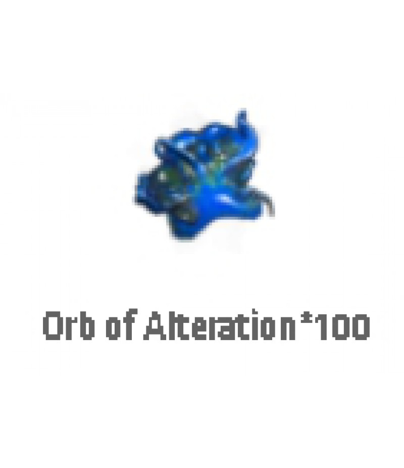 Path of Exile  >  Items  >  Standard  >  Orb of Alteration*100