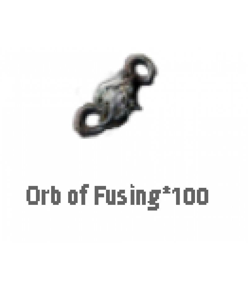Path of Exile  >  Items  >  Standard  >  Orb of Fusing*100
