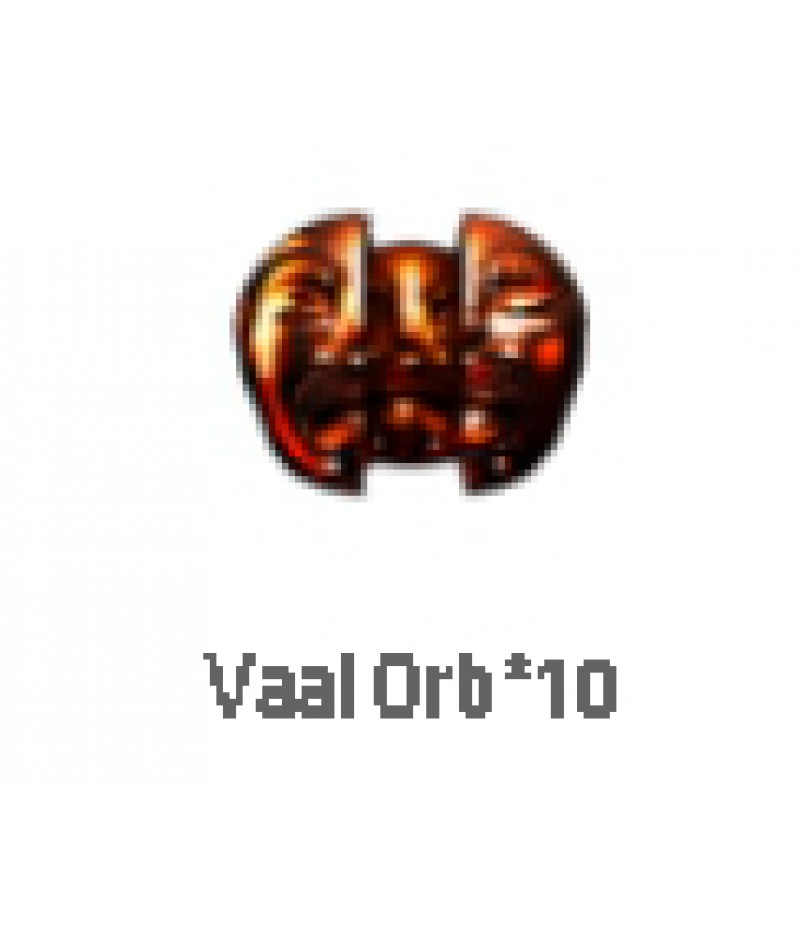 Path of Exile  >  Items  >  Standard  >  Vaal orb*10