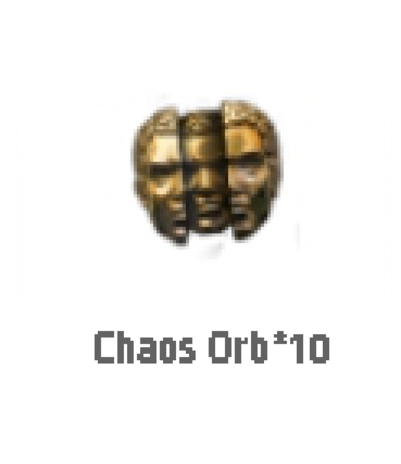 Path of Exile>Items> Synthesis S>Chaos orb*10