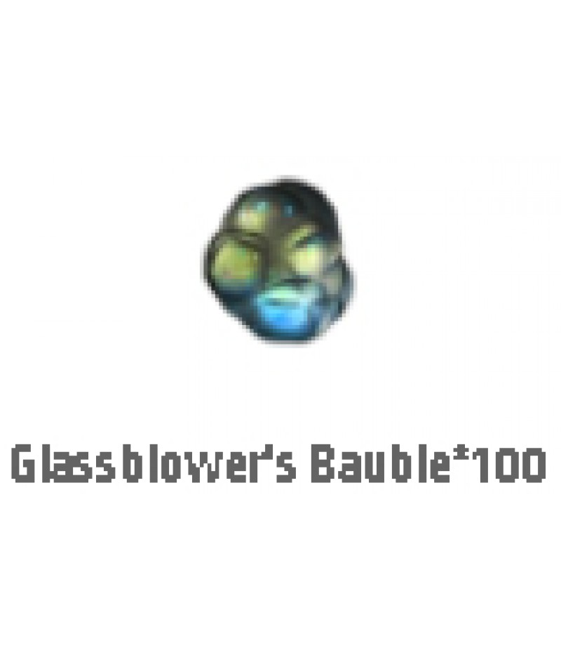 Path of Exile>Items> Synthesis S>Glassblowers Bauble*100