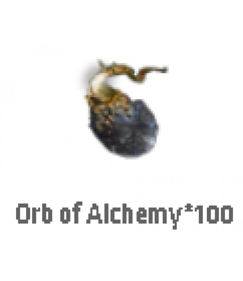 Path of Exile  >  Items  >   Synthesis S  >  Orb of Alchemy*100
