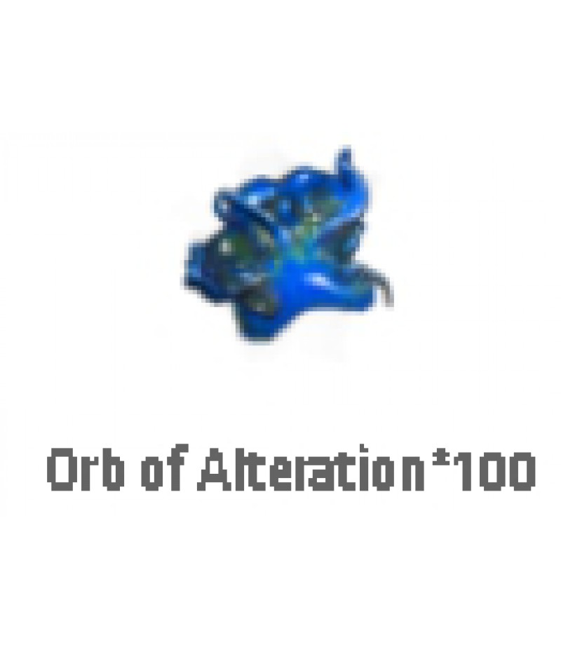 Path of Exile  >  Items  >   Synthesis S  >  Orb of Alteration*100