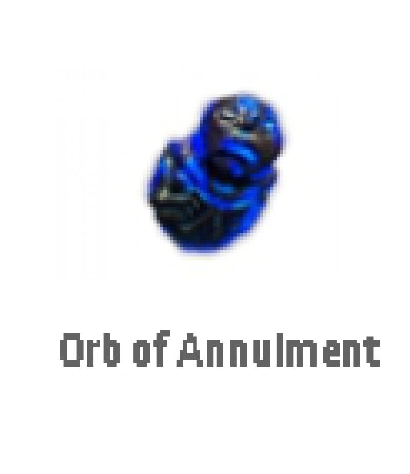 Path of Exile  >  Items  >   Synthesis S  >  Orb of Annulment