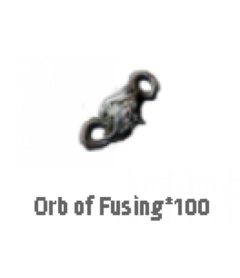 Path of Exile  >  Items  >   Synthesis S  >  Orb of Fusing*100