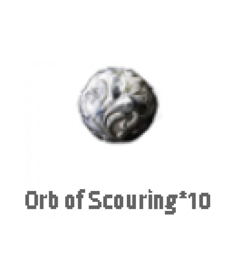 Path of Exile  >  Items  >   Synthesis S  >  Orb of Scouring*10