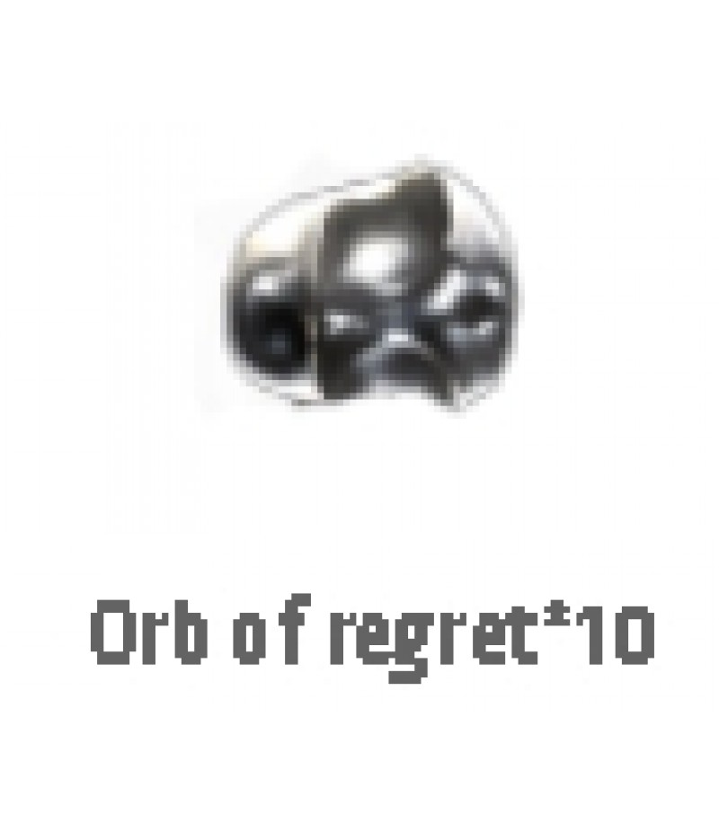 Path of Exile>Items> Synthesis S>Orb of regret*10