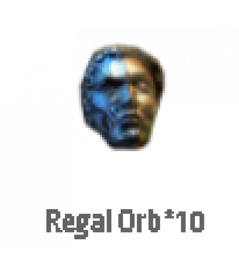 Path of Exile  >  Items  >   Synthesis S  >  Regal Orb*10