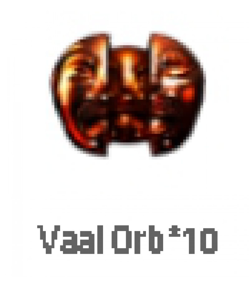 Path of Exile  >  Items  >   Synthesis S  >  Vaal orb*10