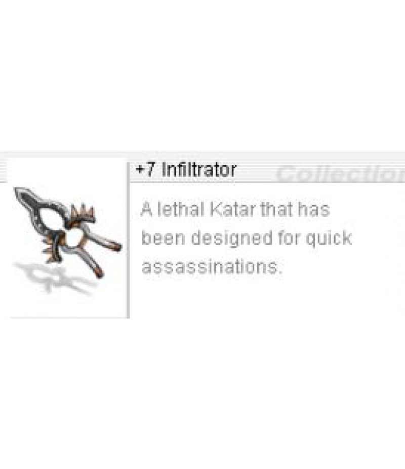 Ragnarok Re:Start  >  Items  >  US - Items  >  +7 Infiltrator