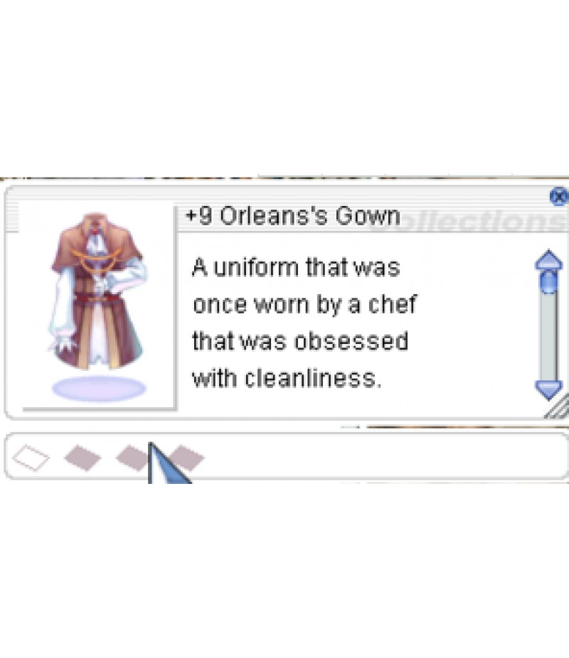 Ragnarok Re:Start  >  Items  >  US - Items  >  +9 Orleans's Gown