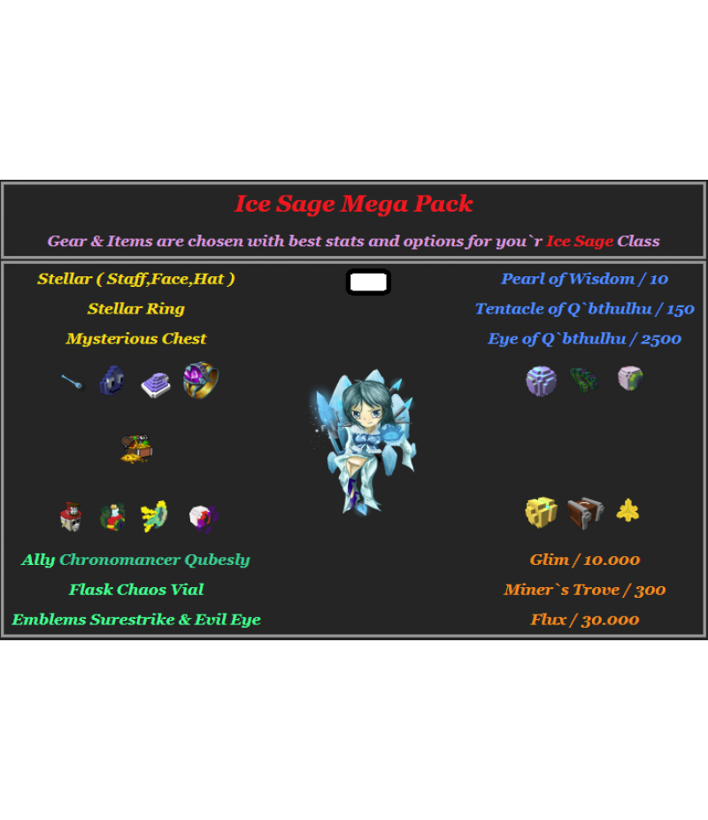 Trove  >  Items  >  PC Mega Packs  >  Ice Sage Mega Pack