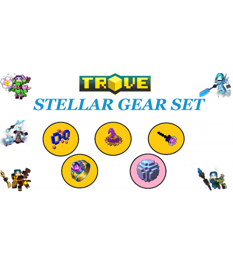 Trove  >  Items  >  PC Stellar Gear Set  >  Stellar Gear Set DR IS CH TR FA
