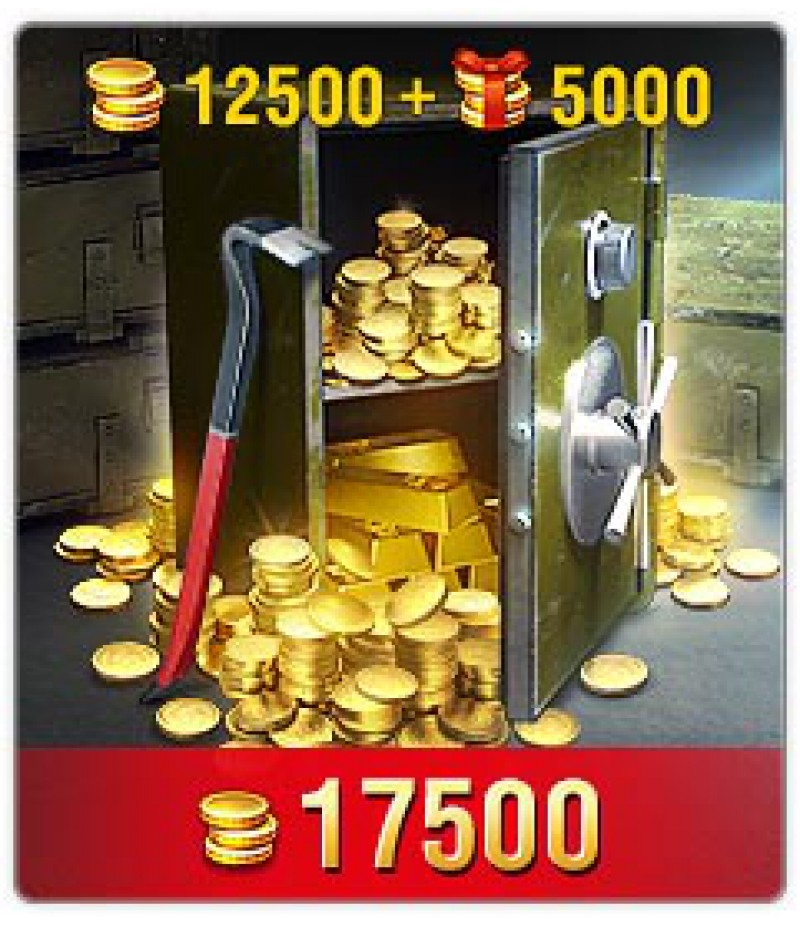 World of Tanks Blitz  >  Gold  >  Wotblitz Golds  >  17500 Gold