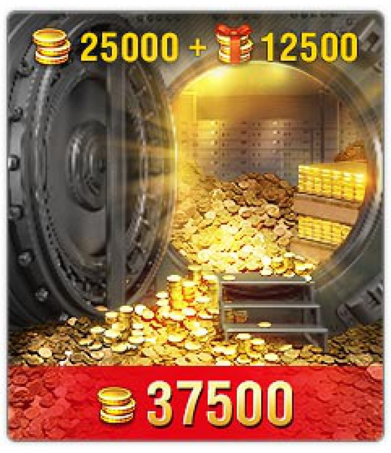 World of Tanks Blitz  >  Gold  >  Wotblitz Golds  >  37500 Gold
